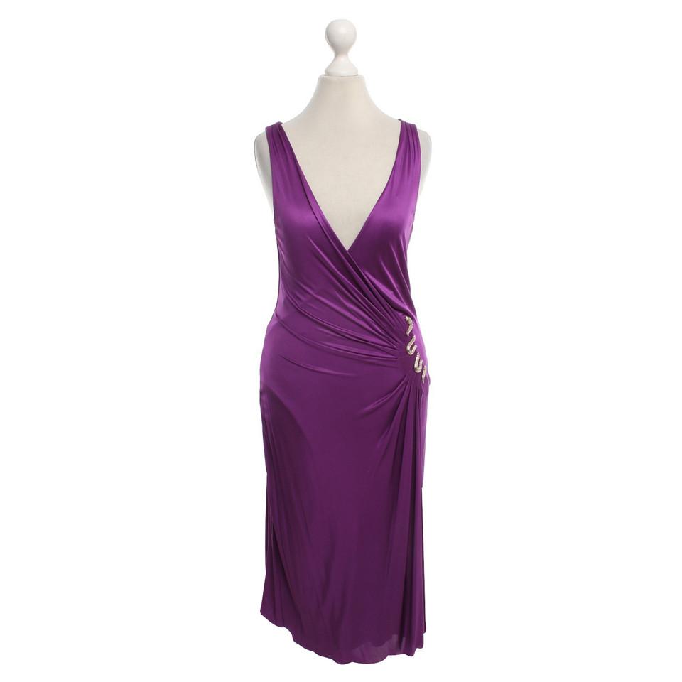 roberto cavalli kleid in violett second hand roberto cavalli kleid in violett gebraucht kaufen. Black Bedroom Furniture Sets. Home Design Ideas