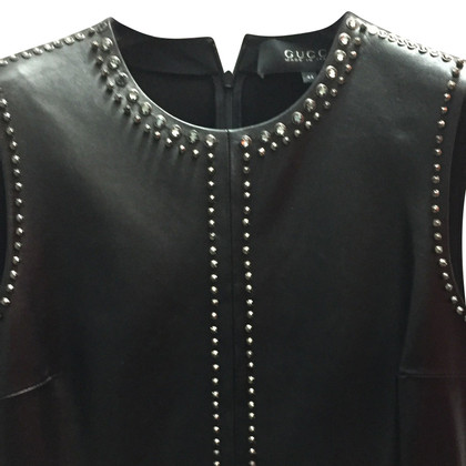 Gucci Leather dress