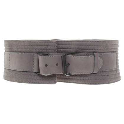 Ann Demeulemeester Taupe colored belt