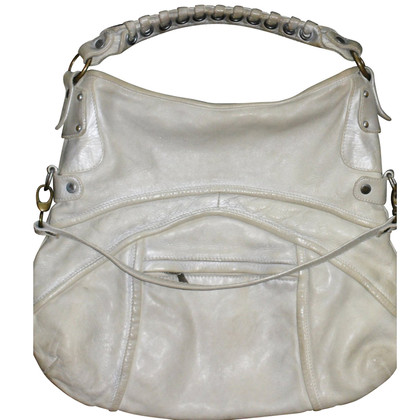 Giorgio Brato Leather handbag in metallic