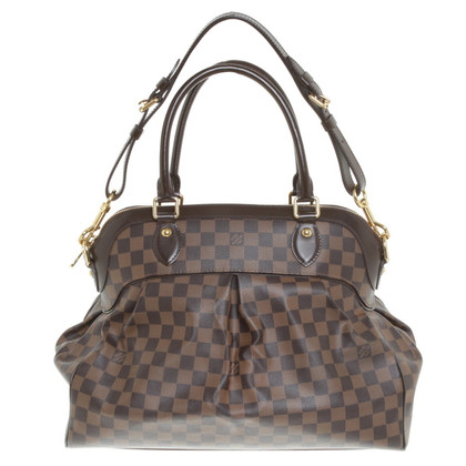 "Louis Vuitton ""Trevi GM  Damier Ebene Canvas """