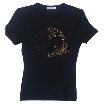Versace Shirt with rhinestone logo
