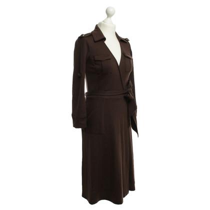Diane von Furstenberg Abito in lana nel colore marrone