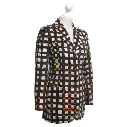 Moschino Blazer met patroon