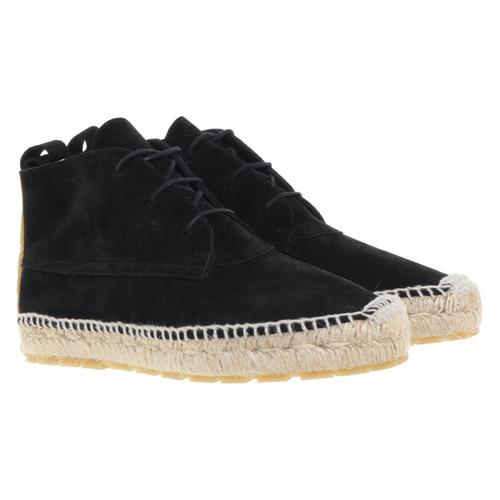 taille 40 5f8eb 67acd Balenciaga Chaussures en daim noir - Acheter Balenciaga ...