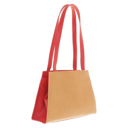 Walter Steiger Handbag in brown / red