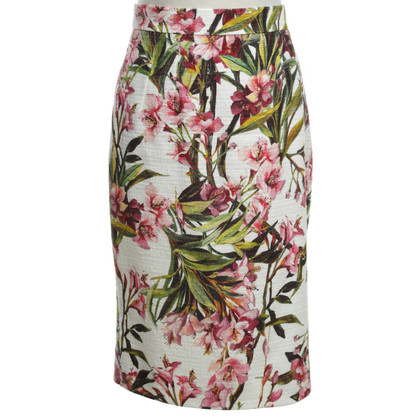 Dolce & Gabbana skirt with floral pattern