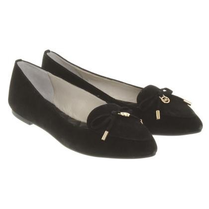 Michael Kors Ballerina's in zwart