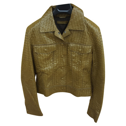 Bottega Veneta Woven leather jacket