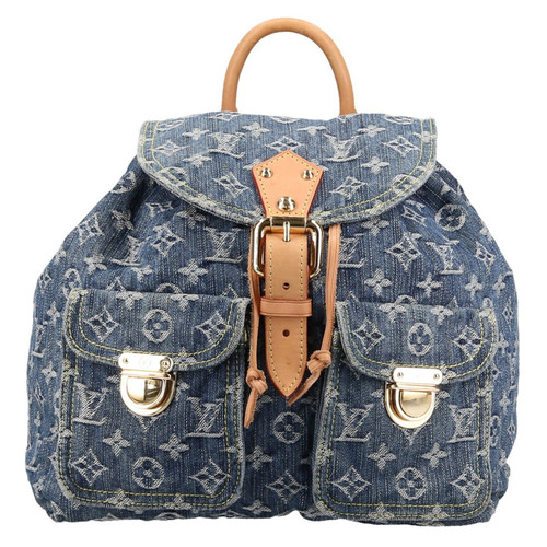 e44e576efd7cd Louis Vuitton Sac à dos en denim monogram - Acheter Louis Vuitton ...