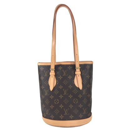 """Louis Vuitton """"Petit Bucket Monogram Canvas"""""""