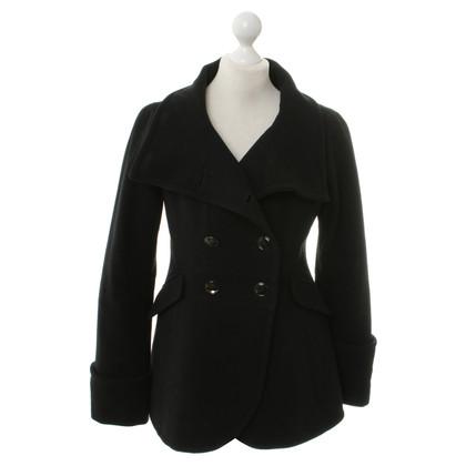 Armani Collezioni Veste en laine noire