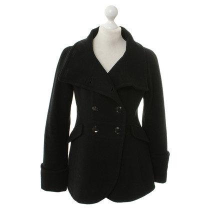 Armani Collezioni Wool jacket in black