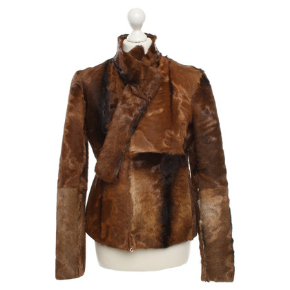 Miu Miu Fur jacket in brown