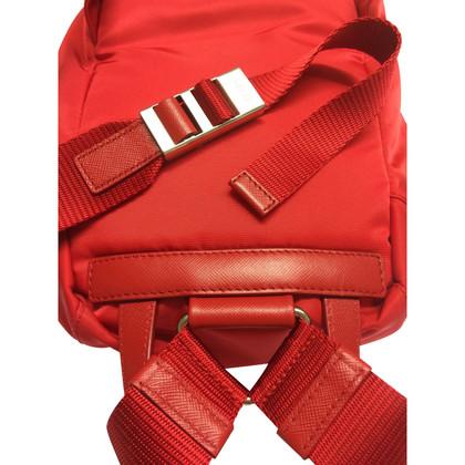 Prada Red backpack