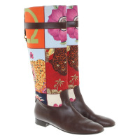 Salvatore Ferragamo Boots of material mix