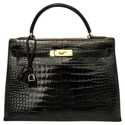 """Hermès """"Kelly Bag 32 Crocodylus Porosus"""""""