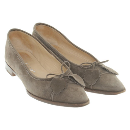 Unützer Ballerinas in olive green