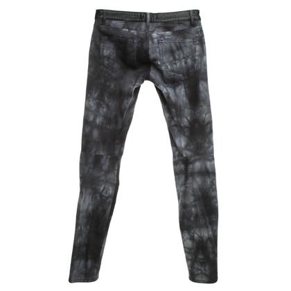 Maje Trousers with Batikprint