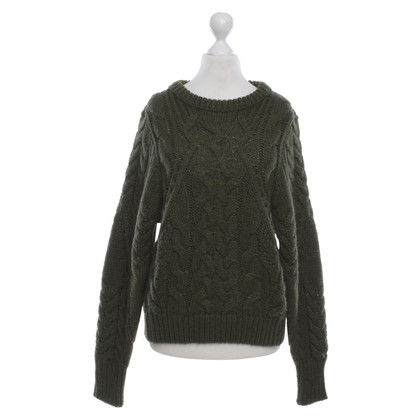 Maje Cable Knit Sweater