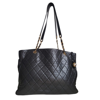 Chanel Shopping Tote in Brown