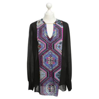 Emilio Pucci Silk blouse with print