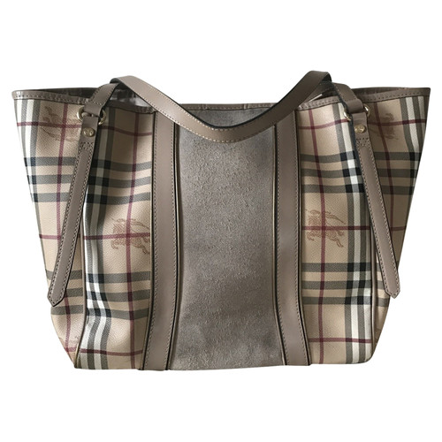 ae85380b1d85 Burberry Handbag Leather in Cream - Second Hand Burberry Handbag ...