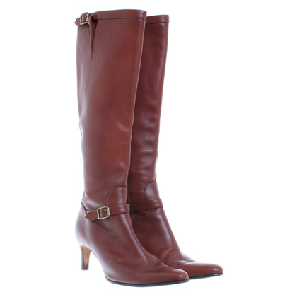 Ralph Lauren Boots in equestrian look
