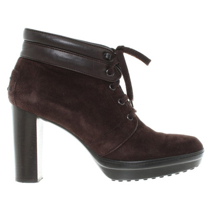 Tod's Ankle boots-pumps from suede