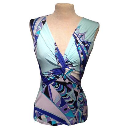 Emilio Pucci top pattern