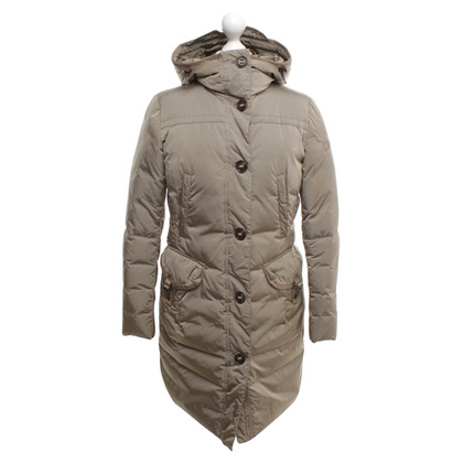 Peuterey Down coat in beige / grey