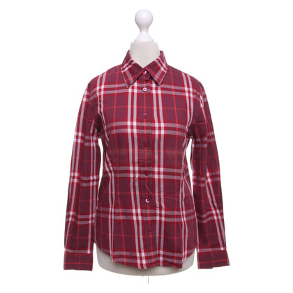 Burberry Blouse with plaid pattern