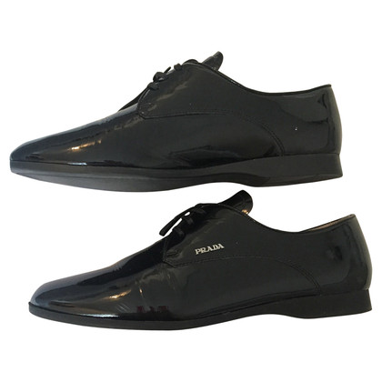 Prada Patent leather lace-up shoes