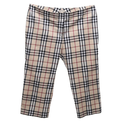 Burberry trousers with Nova check pattern