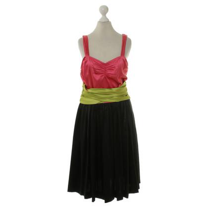 DKNY Three coloured dress