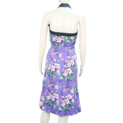 Karen Millen Violet dress with pattern