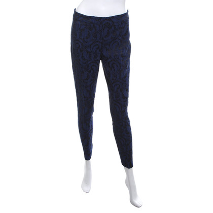 Piu & Piu trousers in blue / black