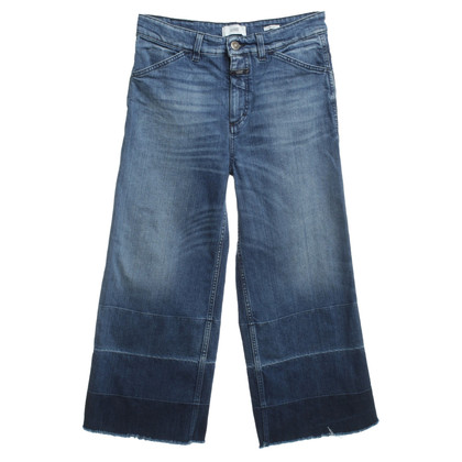 Closed 3/4-jeans in blauw