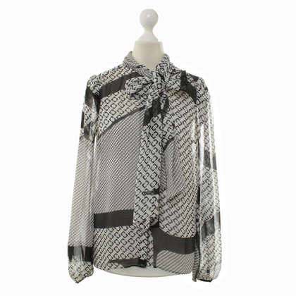 "Diane von Furstenberg Button blouse ""Jezebel"""