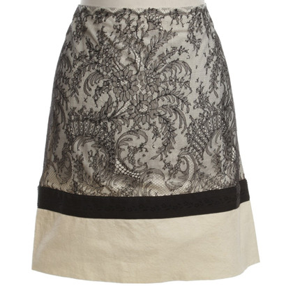 Alessandro Dell'Acqua skirt with lace