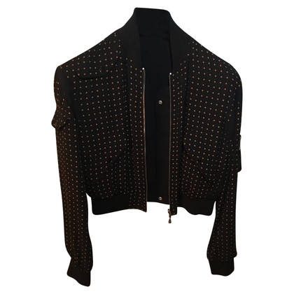 Alexander McQueen Bomber jacket to turn