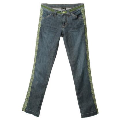 D&G Jeans mit Spitzen-Detail