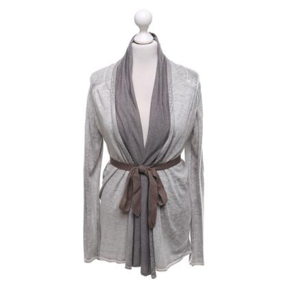 Bloom Cardigan in grigio
