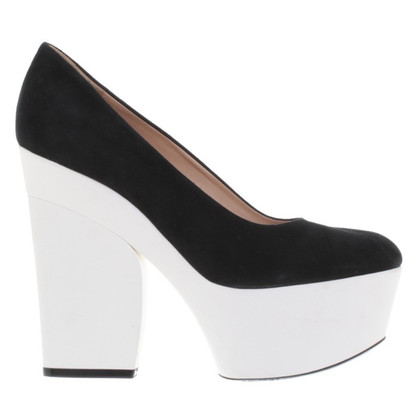 Céline pumps in bicolor