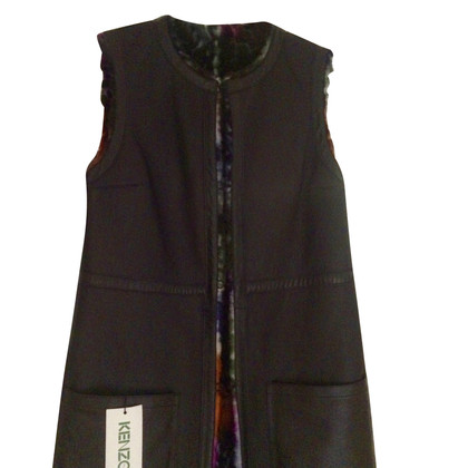 Kenzo leather vest