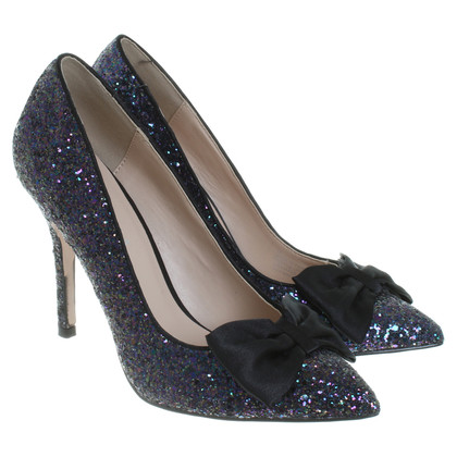Kurt Geiger Pumps with sequin trim