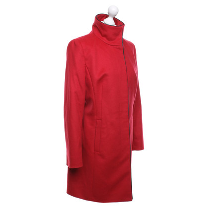 Hugo Boss Wool coat in red