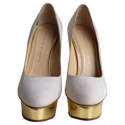 Charlotte Olympia Beige Pumps