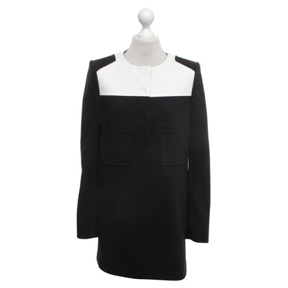 Luisa Cerano Coat in black and white