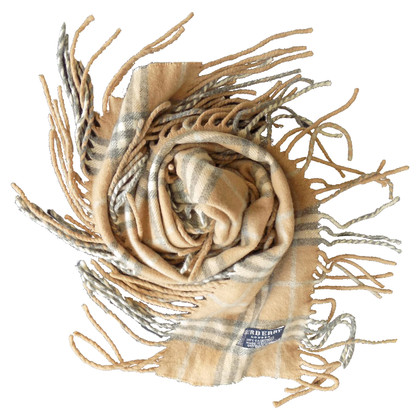Burberry Cashmere scarf with fringes